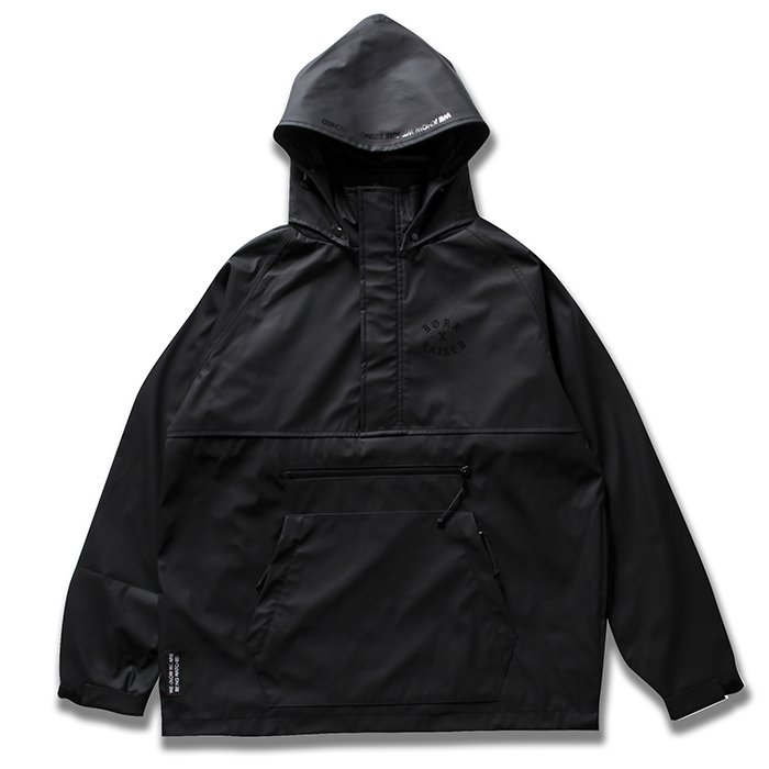 BORN X RAISED Anorak Jacket(Black)