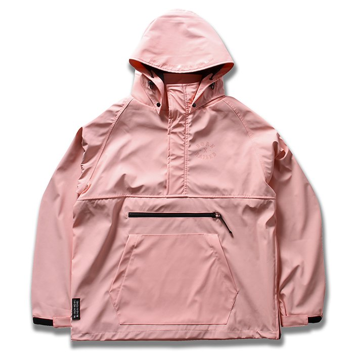 BORN X RAISED Anorak Jacket(Pink)