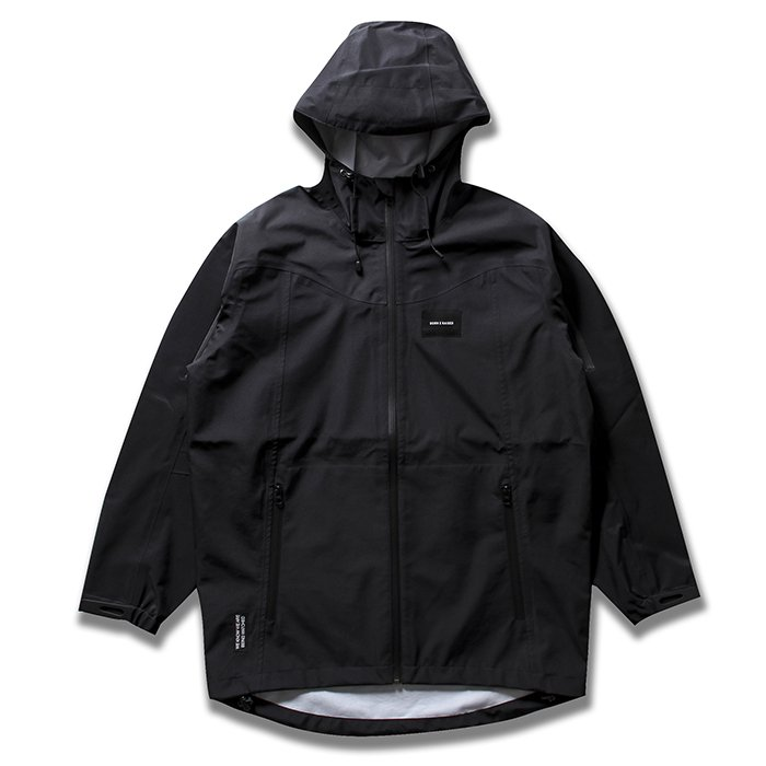 BORN X RAISED 3Layer Jacket(Black)