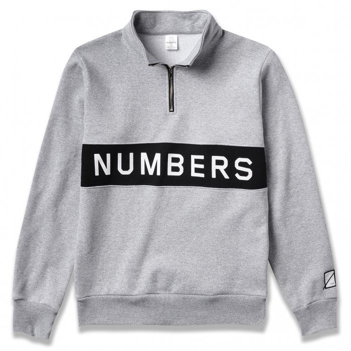 NUMBERS EDITION WORDMARK - FLEECE QUARTER-ZIP