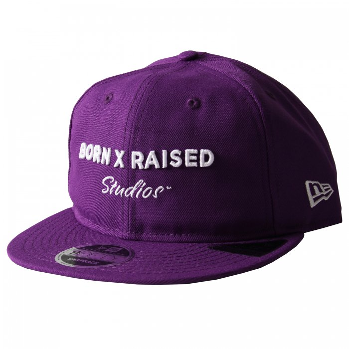 BORN X RAISED BORNXRAISED STUDIOS DAD HAT (Purple)