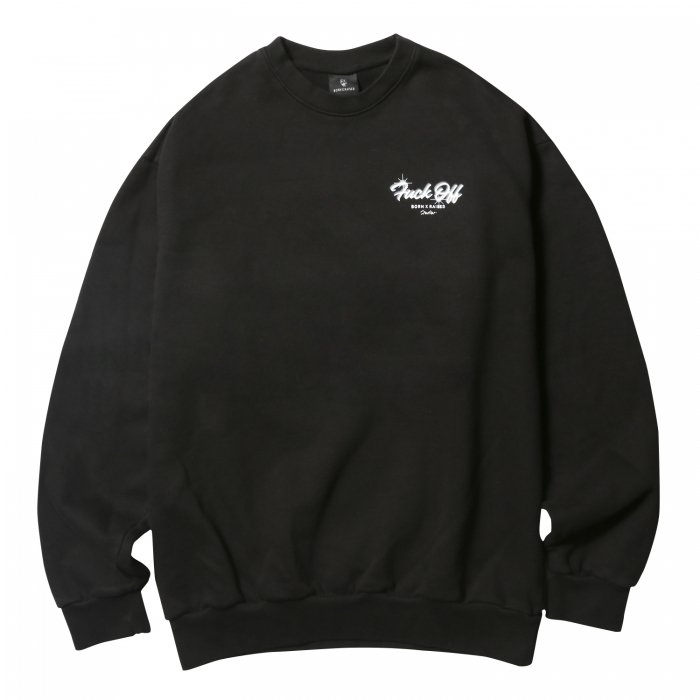 BORN X RAISED STUDIOS CREWNECK(Black)