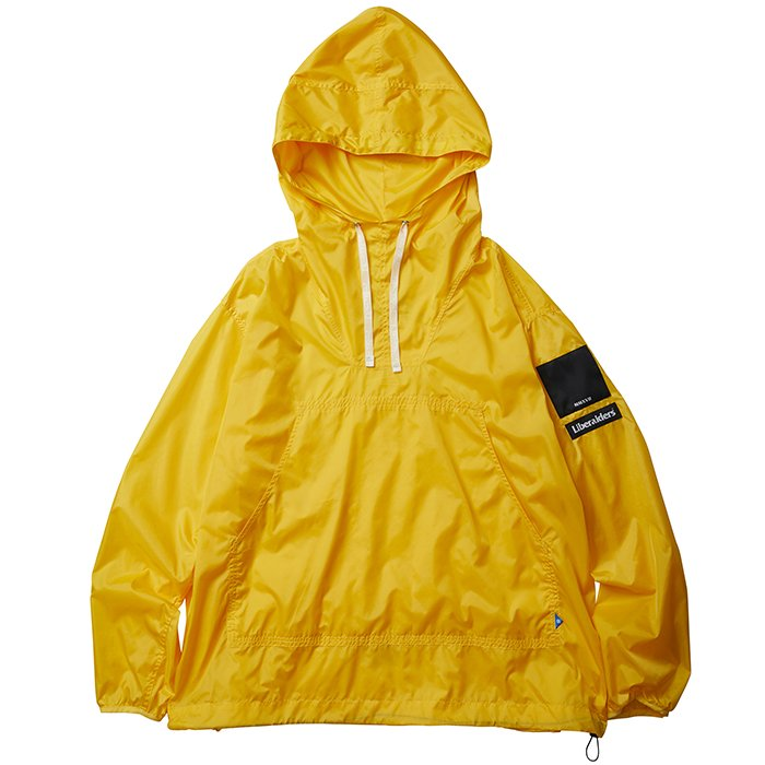 <img class='new_mark_img1' src='//img.shop-pro.jp/img/new/icons34.gif' style='border:none;display:inline;margin:0px;padding:0px;width:auto;' />Liberaders LR NYLON RIP-STOP ANORAK(Yellow)