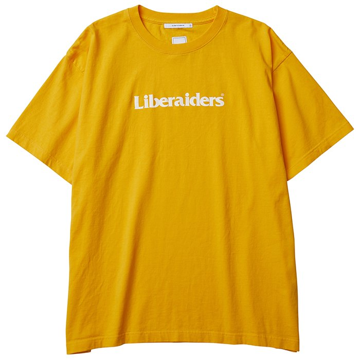 Liberaiders OG LOGO TEE(Yellow)