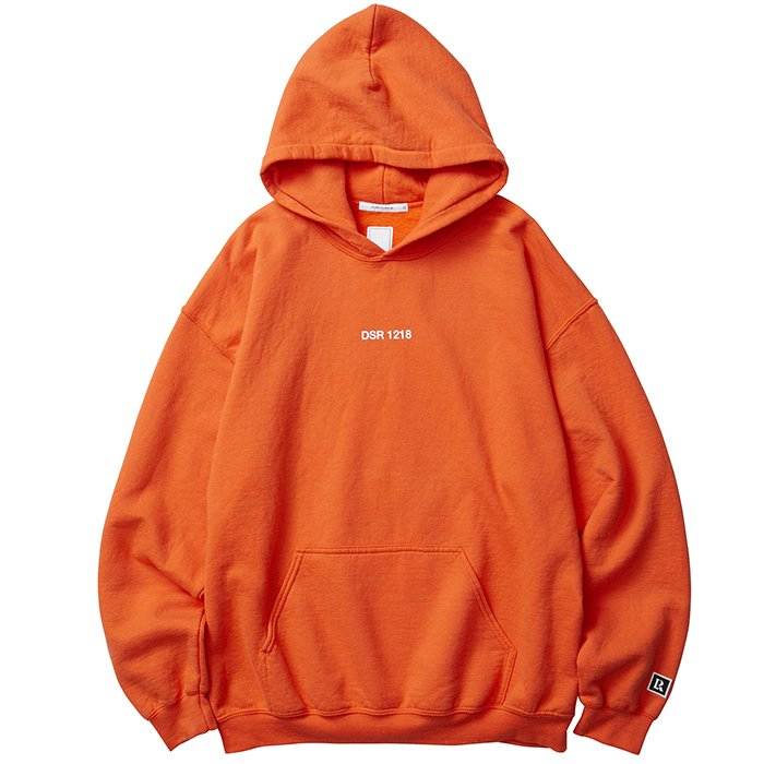 Liberaiders SPACE ROCKET PULLOVER HOODIE(Orange)