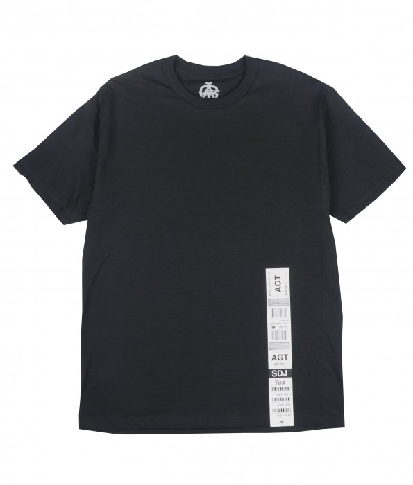 AGIT Luggage Tag S/S Tee(Black)