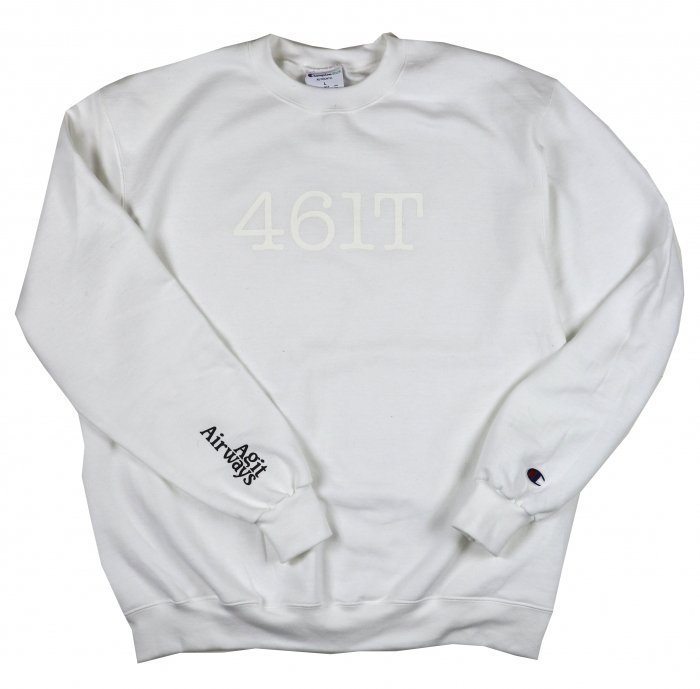 AGIT 461T Crew Neck(White)