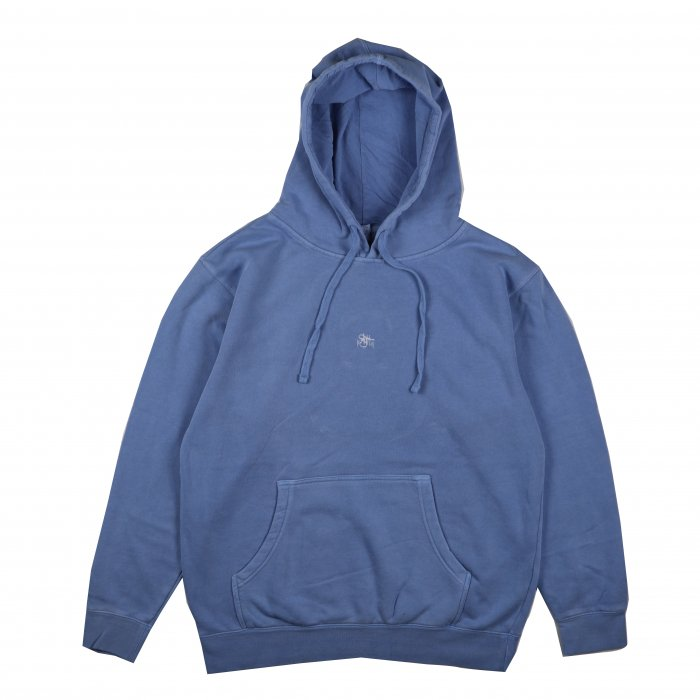<img class='new_mark_img1' src='//img.shop-pro.jp/img/new/icons34.gif' style='border:none;display:inline;margin:0px;padding:0px;width:auto;' />AGIT OG Logo Spring Hoody(Blue×White)