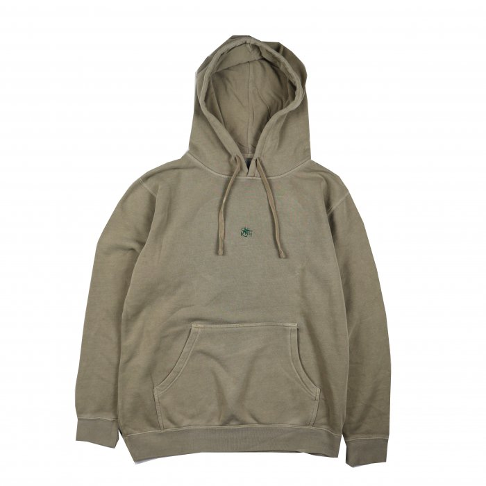 <img class='new_mark_img1' src='//img.shop-pro.jp/img/new/icons34.gif' style='border:none;display:inline;margin:0px;padding:0px;width:auto;' />AGIT OG Logo Spring Hoody(Beige×Green)