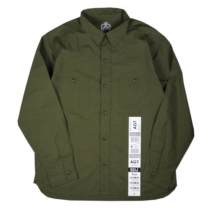 <img class='new_mark_img1' src='//img.shop-pro.jp/img/new/icons34.gif' style='border:none;display:inline;margin:0px;padding:0px;width:auto;' />AGIT Luggage Tag Army Shirt(Olive)