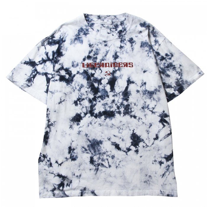 ACID DYED LOGO TEE(White)
