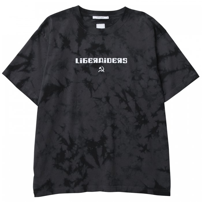 ACID DYED LOGO TEE(Charcoal)