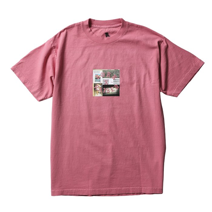 PARTYSQUARE TEE (Dusty rose)