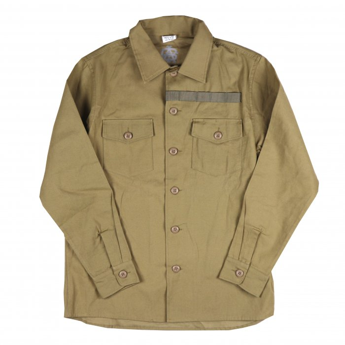 <img class='new_mark_img1' src='//img.shop-pro.jp/img/new/icons34.gif' style='border:none;display:inline;margin:0px;padding:0px;width:auto;' />AGIT Flight Schedule Shirt Jacket(Camel)