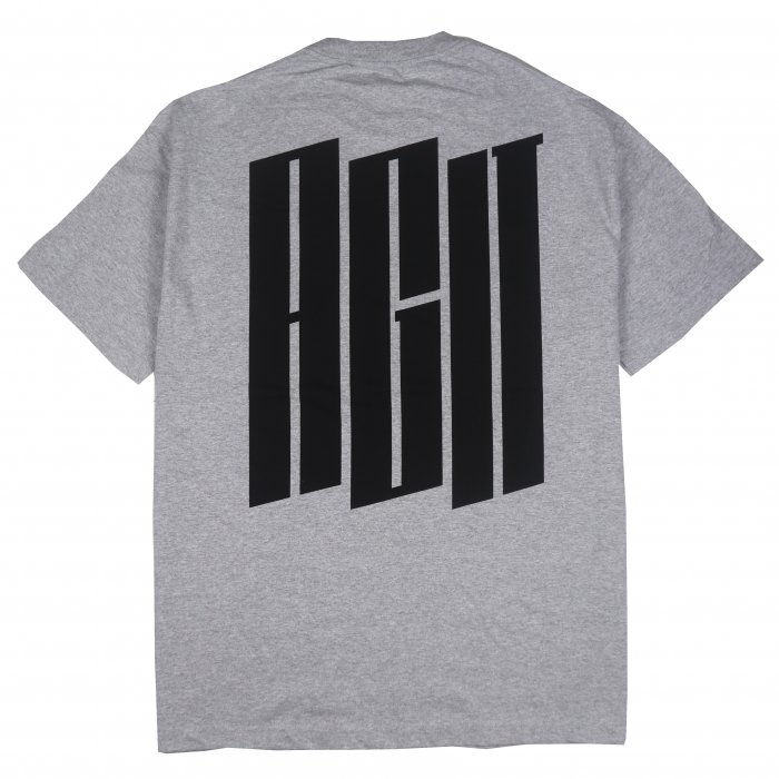 <img class='new_mark_img1' src='//img.shop-pro.jp/img/new/icons50.gif' style='border:none;display:inline;margin:0px;padding:0px;width:auto;' />AGIT Big Urban Logo Pocket Tee(Grey)