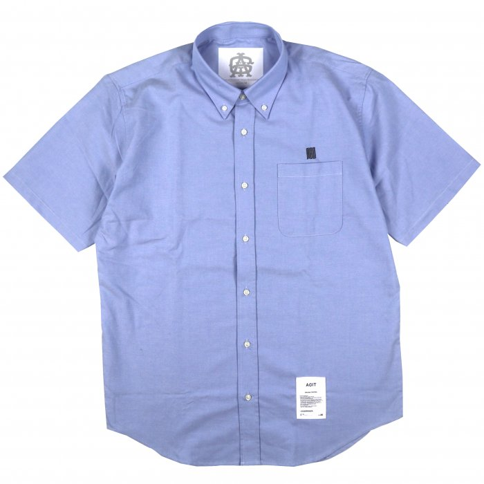 AGIT SSSS S/S Oxford Shirt(Chambray Blue)