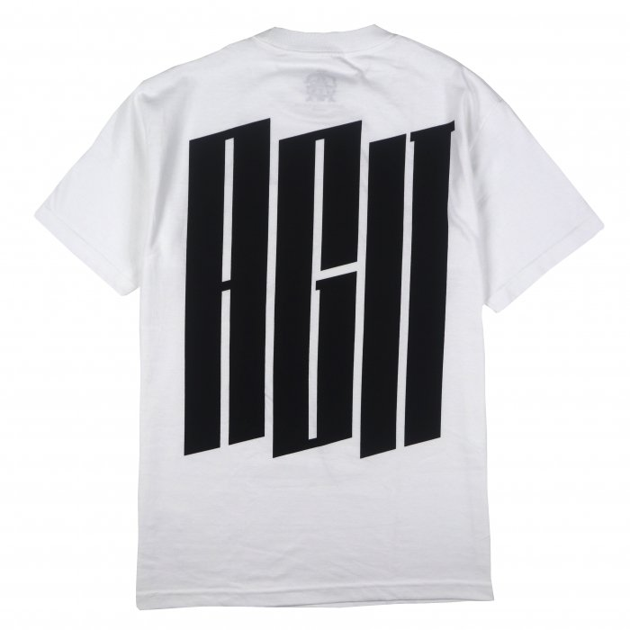 AGIT Big Urban Logo Pocket Tee(White)