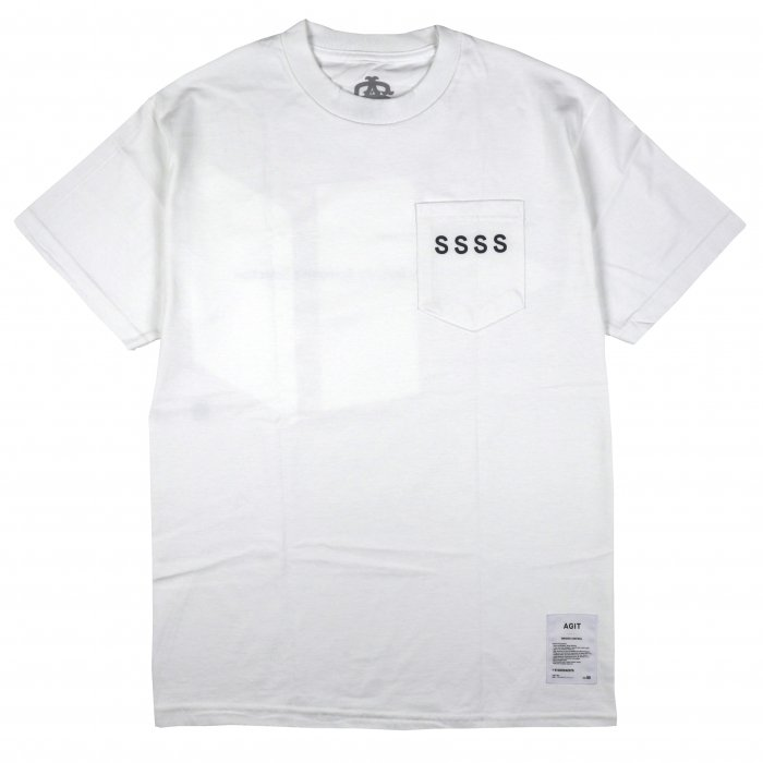 AGIT SSSS S/S Pocket Tee(White)