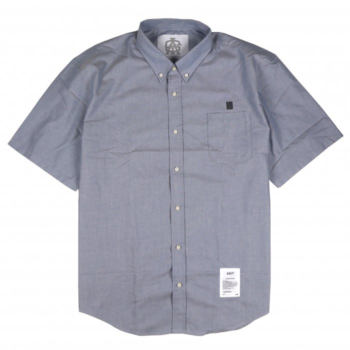 AGIT SSSS S/S Oxford Shirt(Grey)