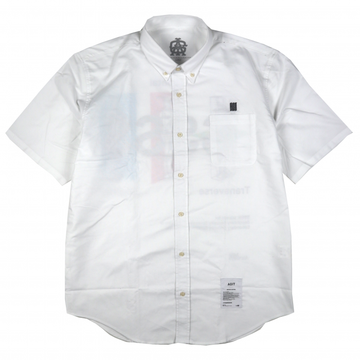 AGIT SSSS S/S Oxford Shirt(White)