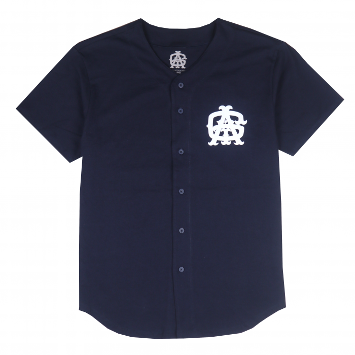 AGIT Huge Tag B.B Shirt(Navy×White)