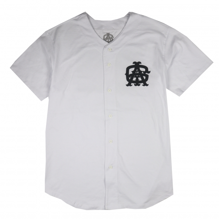 <img class='new_mark_img1' src='//img.shop-pro.jp/img/new/icons50.gif' style='border:none;display:inline;margin:0px;padding:0px;width:auto;' />AGIT Huge Tag B.B Shirt(White×Black)