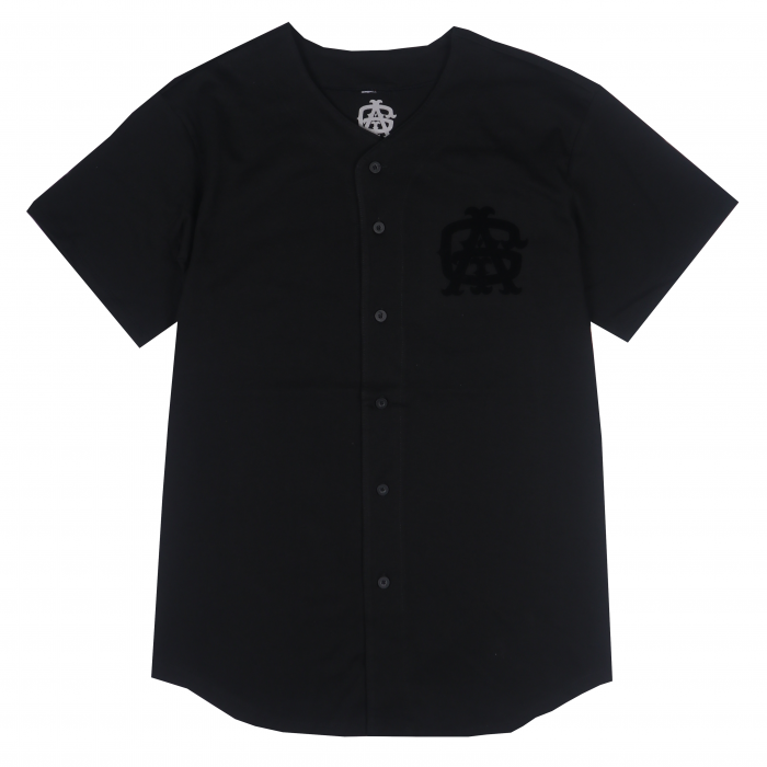 AGIT Huge Tag B.B Shirt(Black×Black)
