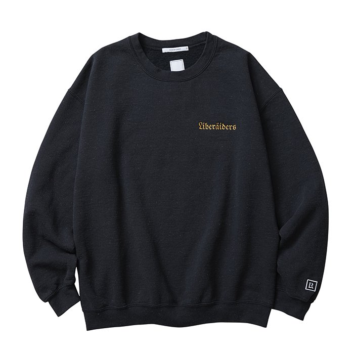 <img class='new_mark_img1' src='//img.shop-pro.jp/img/new/icons47.gif' style='border:none;display:inline;margin:0px;padding:0px;width:auto;' />Liberaders QUADRIGA SWEATSHIRT(Black)