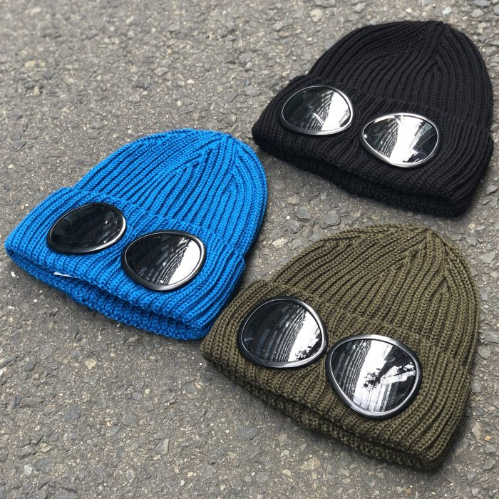 <img class='new_mark_img1' src='//img.shop-pro.jp/img/new/icons47.gif' style='border:none;display:inline;margin:0px;padding:0px;width:auto;' />C.P COMPANY KNIT CAP (Black,Bluejay,Olive)