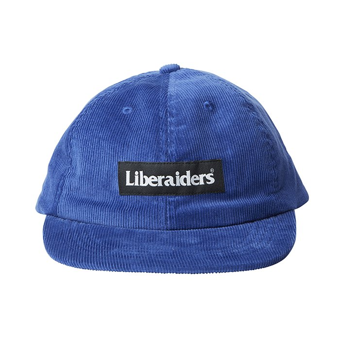 <img class='new_mark_img1' src='//img.shop-pro.jp/img/new/icons1.gif' style='border:none;display:inline;margin:0px;padding:0px;width:auto;' />Liberaders CORDUROY CAP(Blue)