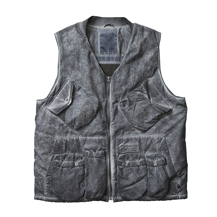 <img class='new_mark_img1' src='//img.shop-pro.jp/img/new/icons1.gif' style='border:none;display:inline;margin:0px;padding:0px;width:auto;' />Liberaiders OVERDYED C-1 VEST (Black)
