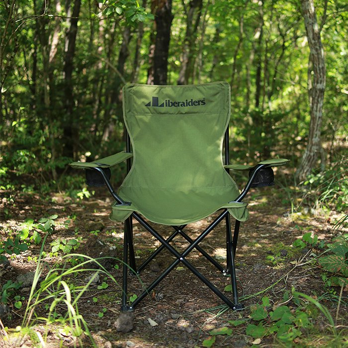 <img class='new_mark_img1' src='https://img.shop-pro.jp/img/new/icons47.gif' style='border:none;display:inline;margin:0px;padding:0px;width:auto;' />Liberaiders LIBERAIDERS FOLDING CHAIR (Olive)