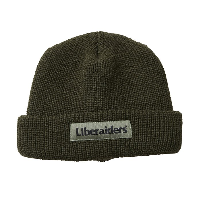 <img class='new_mark_img1' src='https://img.shop-pro.jp/img/new/icons1.gif' style='border:none;display:inline;margin:0px;padding:0px;width:auto;' />Liberaiders OG LOGO WATCH CAP(Olive)