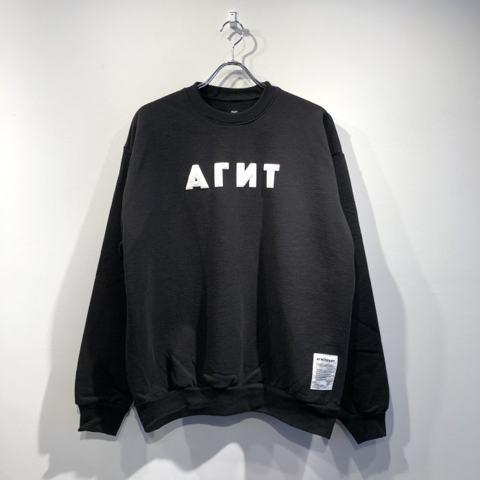 <img class='new_mark_img1' src='https://img.shop-pro.jp/img/new/icons57.gif' style='border:none;display:inline;margin:0px;padding:0px;width:auto;' />AGIT AGIT PUNKT CREWNECK(Black/white)