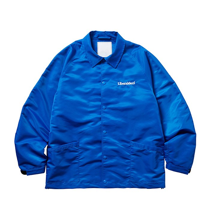 <img class='new_mark_img1' src='https://img.shop-pro.jp/img/new/icons47.gif' style='border:none;display:inline;margin:0px;padding:0px;width:auto;' />Liberaiders OG EMBROIDERY COACH JACKET (Blue)