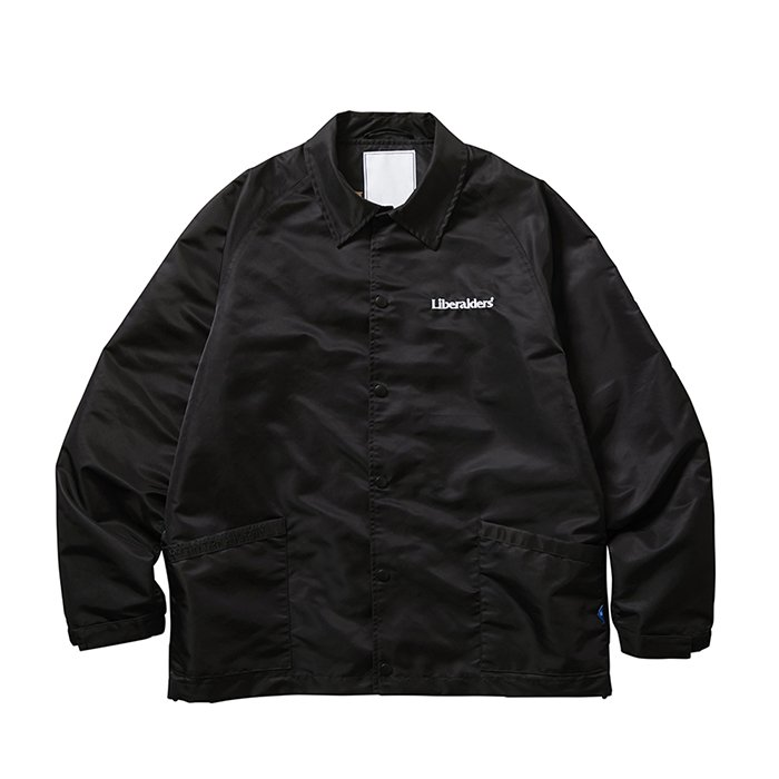 <img class='new_mark_img1' src='https://img.shop-pro.jp/img/new/icons1.gif' style='border:none;display:inline;margin:0px;padding:0px;width:auto;' />Liberaiders OG EMBROIDERY COACH JACKET (Black)