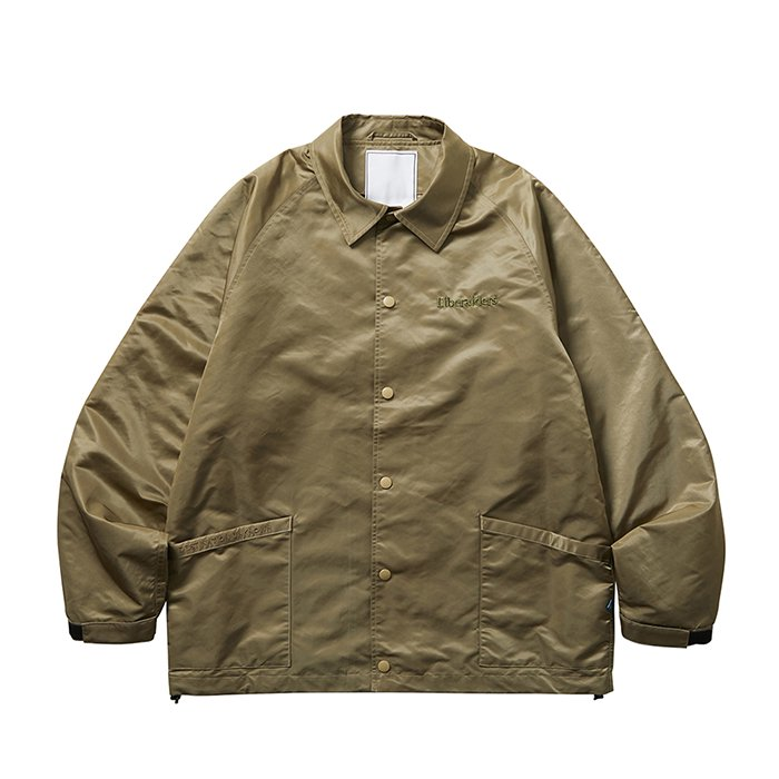 <img class='new_mark_img1' src='https://img.shop-pro.jp/img/new/icons1.gif' style='border:none;display:inline;margin:0px;padding:0px;width:auto;' />Liberaiders OG EMBROIDERY COACH JACKET (Beige)