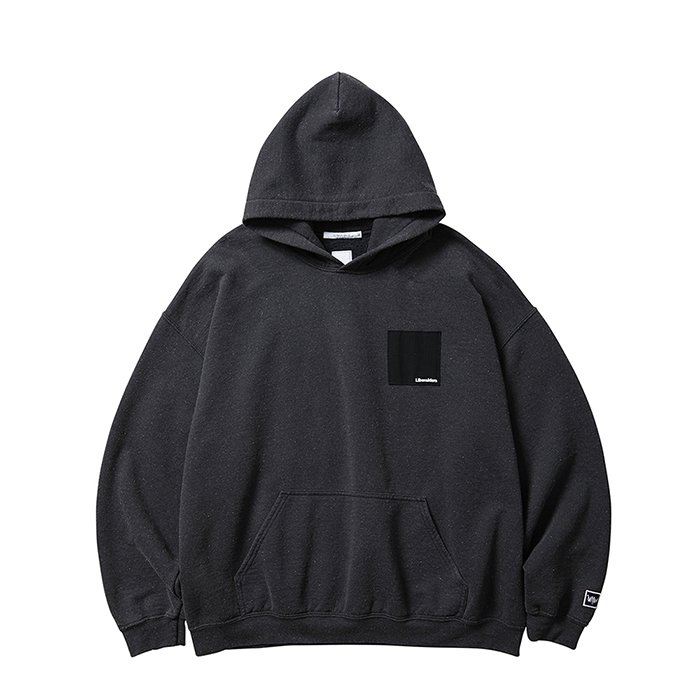 <img class='new_mark_img1' src='https://img.shop-pro.jp/img/new/icons1.gif' style='border:none;display:inline;margin:0px;padding:0px;width:auto;' />Liberaiders PATCHWORK PULLOVER HOODIE (Black)