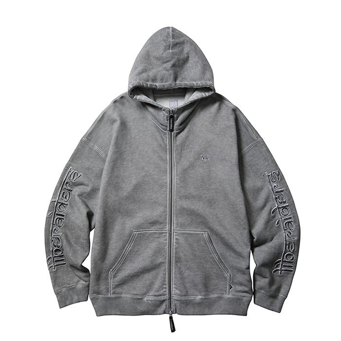 <img class='new_mark_img1' src='https://img.shop-pro.jp/img/new/icons1.gif' style='border:none;display:inline;margin:0px;padding:0px;width:auto;' />Liberaiders OVERDYED ZIP HOODIE (Black)
