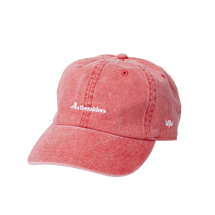 Liberaiders OVERDYED 6PANEL CAP(Red)