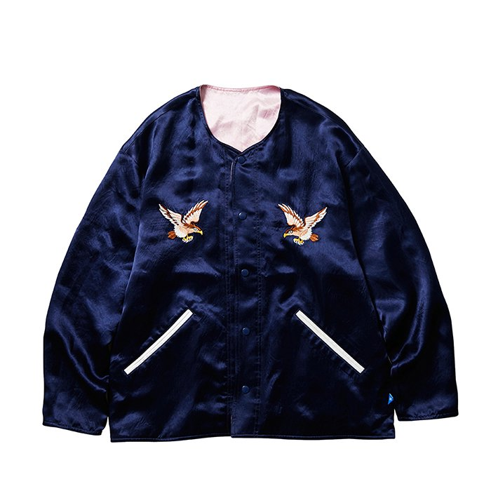 <img class='new_mark_img1' src='https://img.shop-pro.jp/img/new/icons1.gif' style='border:none;display:inline;margin:0px;padding:0px;width:auto;' />Liberaiders SOUVENIR JACKET (Navy)