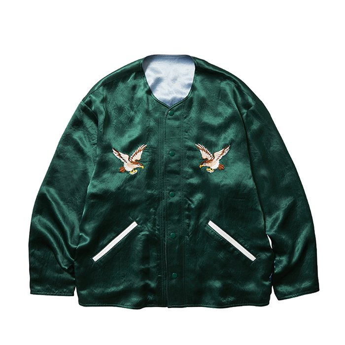 <img class='new_mark_img1' src='https://img.shop-pro.jp/img/new/icons47.gif' style='border:none;display:inline;margin:0px;padding:0px;width:auto;' />Liberaiders SOUVENIR JACKET (Green)