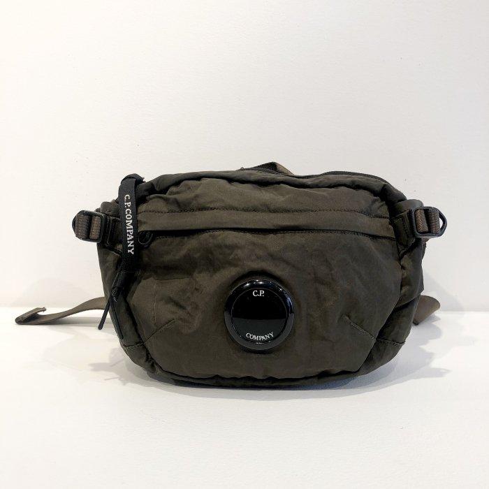 C.P.COMPANY WAIST BAG NYLON B(Olive)