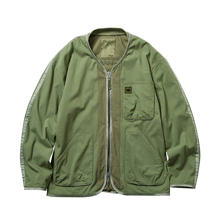 <img class='new_mark_img1' src='https://img.shop-pro.jp/img/new/icons47.gif' style='border:none;display:inline;margin:0px;padding:0px;width:auto;' />Liberaiders UTILITY JACKET (Olive)