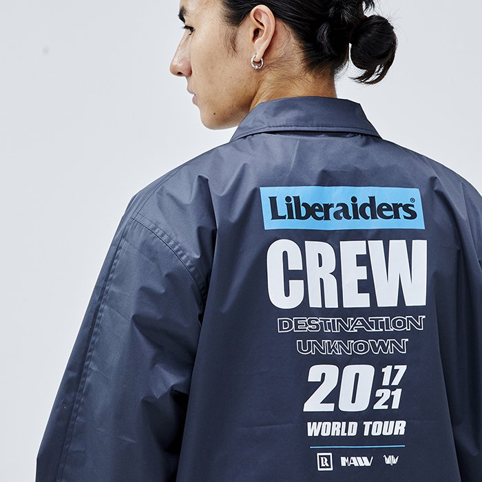 <img class='new_mark_img1' src='https://img.shop-pro.jp/img/new/icons1.gif' style='border:none;display:inline;margin:0px;padding:0px;width:auto;' />Liberaiders LIBERAIDERS TOUR CORCH JACKET (Black)