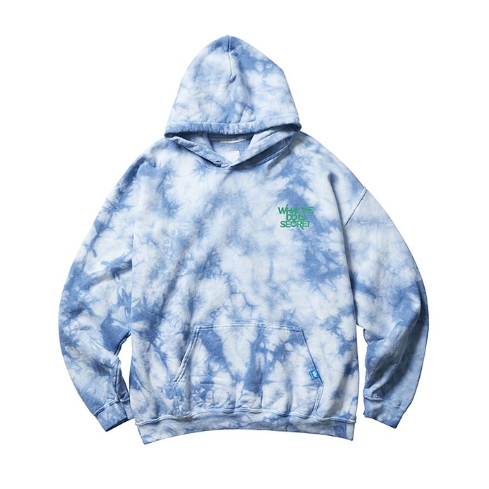 <img class='new_mark_img1' src='https://img.shop-pro.jp/img/new/icons1.gif' style='border:none;display:inline;margin:0px;padding:0px;width:auto;' />Liberaiders TIE DYE PULLOVER HOODIE (Mint)