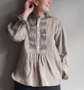 TUNICA SHIRT (vintage linen)