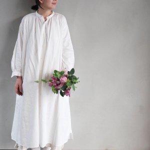 BOL DRESS<cotton×silk>