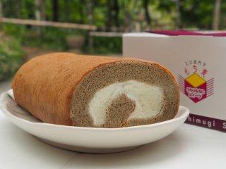 もち麦ロールケーキ(2本セット)