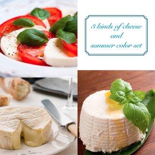 3種のチーズと夏色セット(毎週土曜日発送)